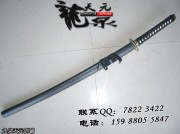 君子竹长款武士刀|武士刀|普及类|中碳钢|★|标准长度