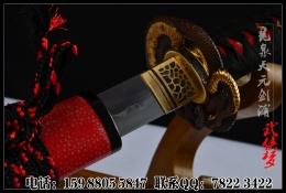 八歧大蛇碎烧武士刀|武士刀|高碳钢烧刃|★★★