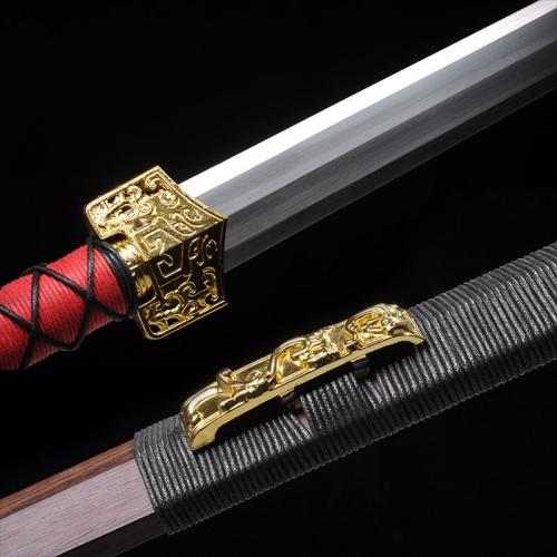 锰钢八面汉剑 超值龙泉剑 高碳钢