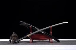 银龙水淬精品武士刀|武士刀|高碳钢|★★★★
