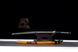 盘龙烧刃武士刀 高碳钢T10 武士刀