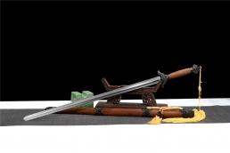 铜装四君子武术太极剑|太极剑|花纹钢