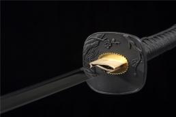 君子竹高碳钢武士刀|高碳钢|武士刀|★★★