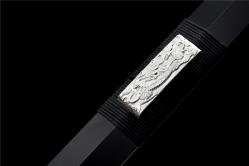 金属鞘四兽银装神符汉剑 汉剑 碳钢 金属鞘金属柄 未开刃
