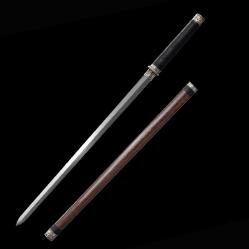 素装花纹钢唐剑|龙泉宝剑|花纹钢|★★