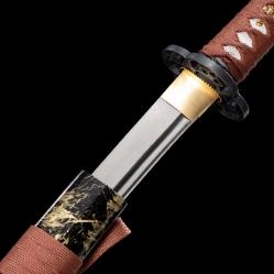 四面花锰钢武士刀|武士刀|高碳钢|★★